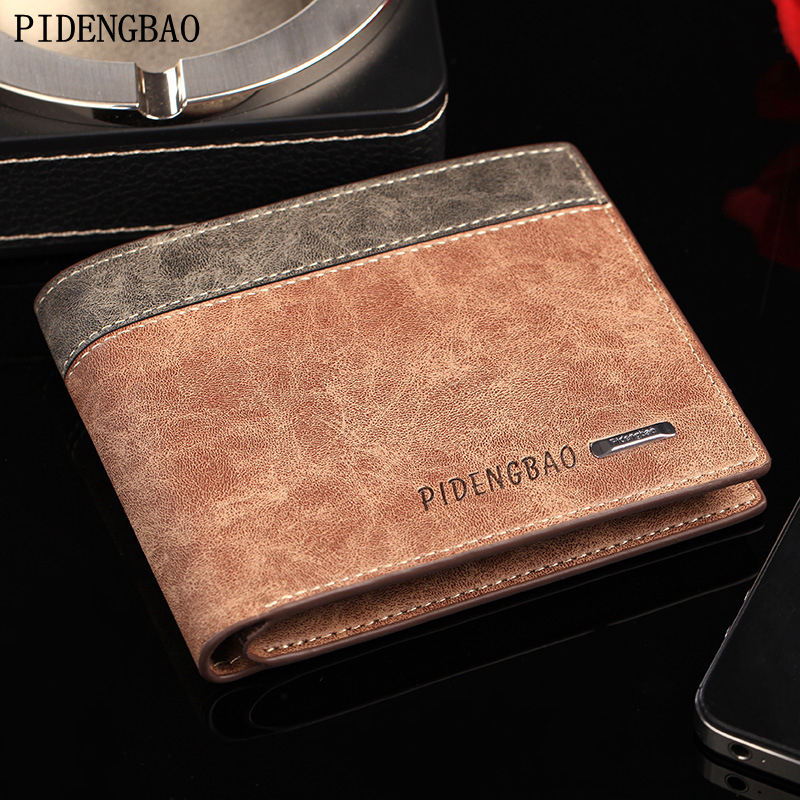 PIDENGBAO 2017 Men's Leather Wallets Fine Business Long Credit Bags Men's Card Holder ID High Quality Money Bag Clutch Wallets(China (Mainland))