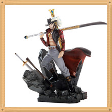 High Quality Anime toy Anime One Piece Mihawk PVC Action Figure Collection Toy 6″15CM
