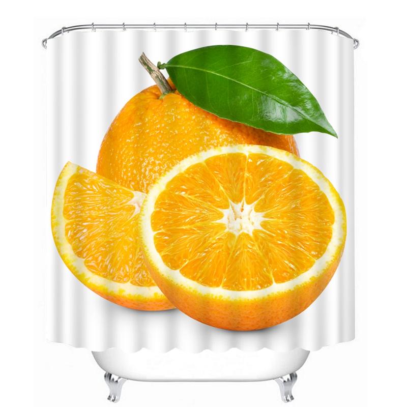 Cortinas De Baño Lavables:Promoción de Naranja Cortinas De Baño – Compra Naranja Cortinas De