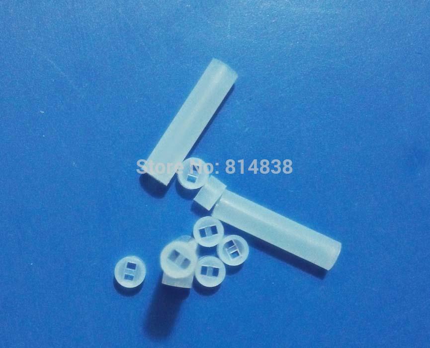 4x20 Diameter 4mm Length 20 mm Nylon PCB Board Mount LED Spacer Support Hood