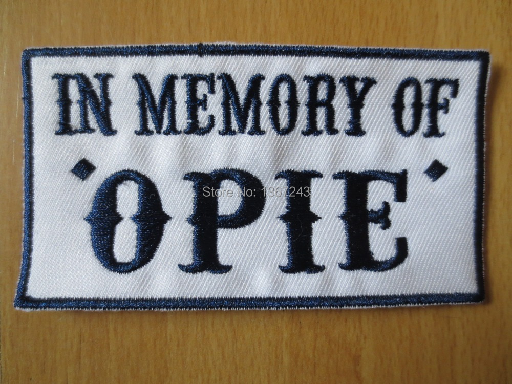 Sons of Anarchy Patches Opie Patch Sons of Anarchy