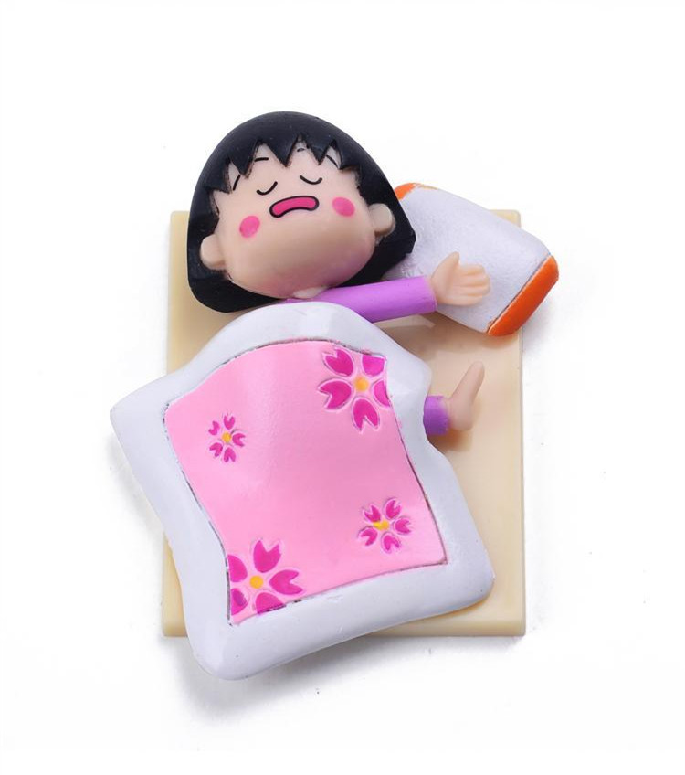 Chibi Maruko Chan Doll Figure Sleeping-in Action & Toy