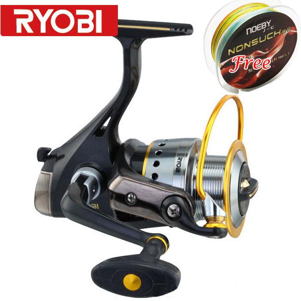 Ryobi spinning fishing reel ryobi ecusima 4000 reel in for Ryobi fishing reel