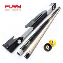 2016 New Maple Fury Professional Pool Cues Billiard Cue Case Stick 11.75mm/12.75mm Tips Taco De Billar Black 8 A/B Type Handle(China (Mainland))