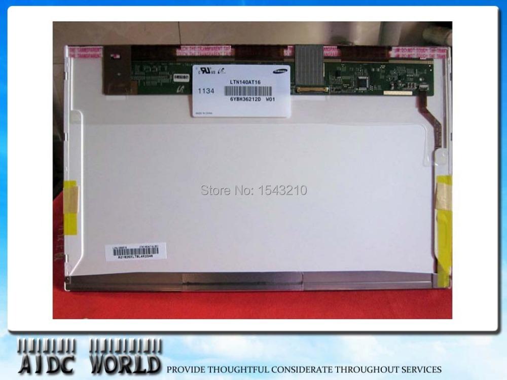Фотография Free shipping!14.0 inch laptop led screens LP140WH4-TLA1 LTN140AT02 LTN140AT16 LTN140AT07 LTN140AT26 LP140WH4