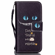 Black Eyes Stand PU Leather Flip Case Cover Knockproof Sleeve Cellphone Bag For iPhone 4s 5c 5s Phone Bag