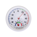 Mini LCD Digital Bell shaped Scale Thermometer Hygrometer for Home Office Wall Mount Indoor Temperature Measure