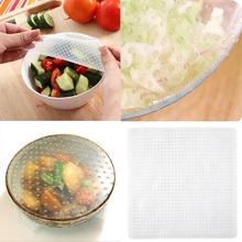 Neue Bequem Wiederverwendbare Silikon Lebensmittel Wrap Dichtungsdeckel Stretchfolie Lebensmittel Frisch Halten Küche Werkzeug(China (Mainland))