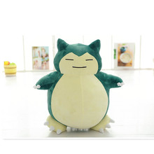"12"" (30cm) High quality Poket Animal Snorlax Plush Toys Stuffed Doll For Kids Gift(China (Mainland))"