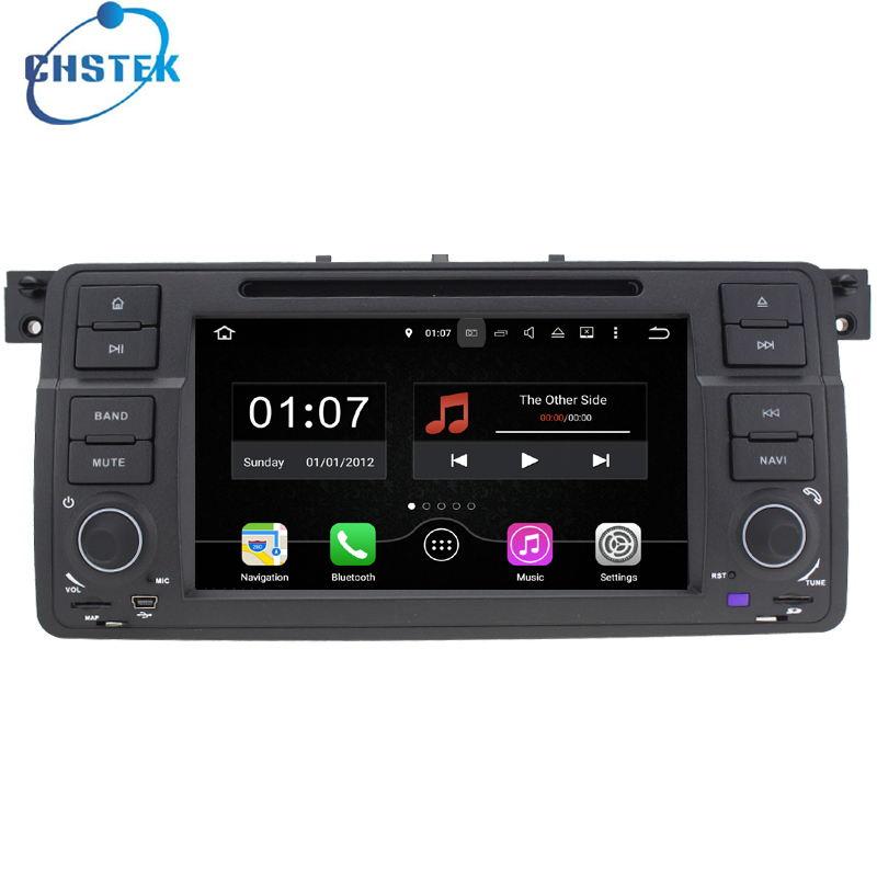 1024*600 Quad Core Android 5.1 Car DVD Radio GPS Navigation System For BMW E46 M3 318 320 WITH CHIPSET WIFI 3G DVR OBD2 Free Map(China (Mainland))