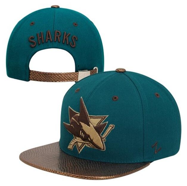 Free shipping 2015 nhl Sharks cap summer style sport cap Energy Leather snapback hats(China (Mainland))