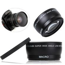 DBPOWER Camera Lens 58MM 0.45x Wide Angle Macro Lens for Canon EOS 350D/ 400D/ 450D/ 500D/ 1000D/ 550D/ 600D/ 1100D(China (Mainland))
