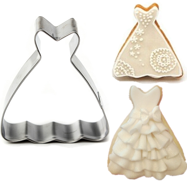 Dress Cookie Cutter - House Cookies