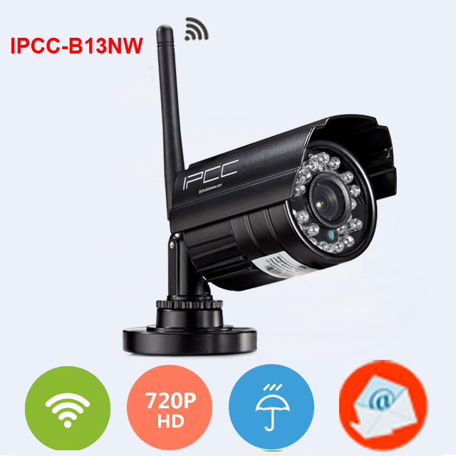 2015 new released ip camera wireless 720p HD wifi outdoor waterproof with motion dtection email alert function(China (Mainland))