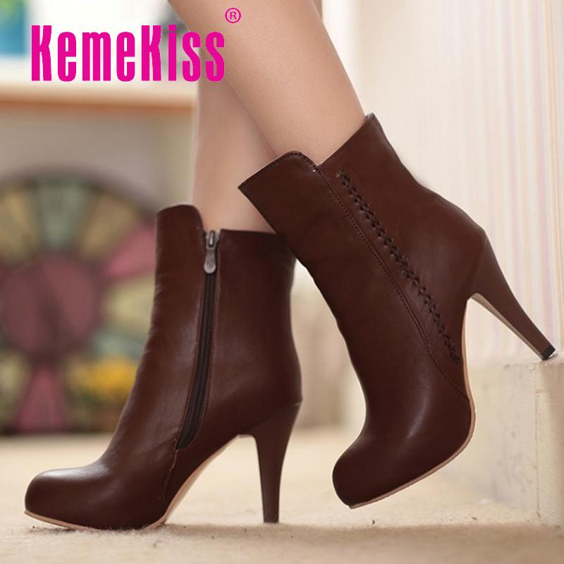 women high heel half short ankle boots rainbow color autumn winter bota fashion footwear warm heels boot shoes P19511 size 34-39<br><br>Aliexpress