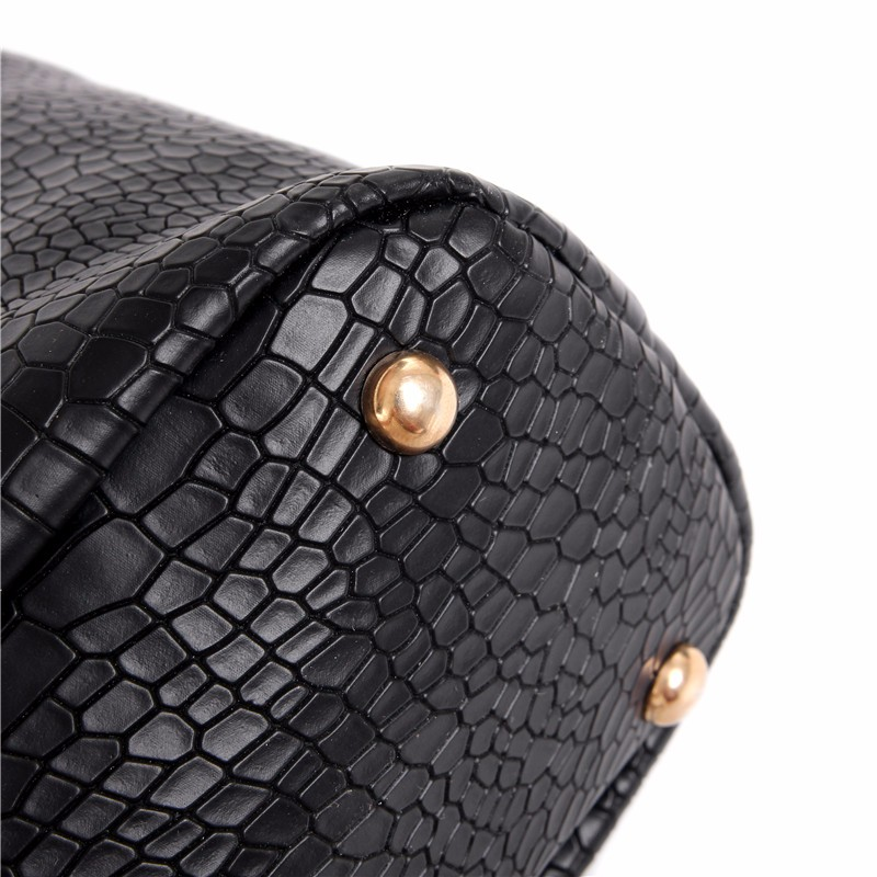 Women Bag 6pcs/Sets Fashion Handbag Set Luxury PU Leather Ladies Shoulder Bags Crossbody Bag Tote Clutch N220