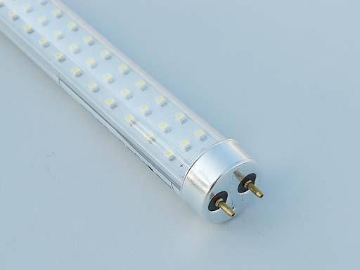 Transparent SMD LED T8 Tubes;90-240Vac input;1200mm long;324pcs 3528 SMD LED;20W;1500lm;CoolWhite(4000-4500k)
