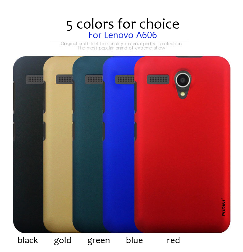 Lenovo A606 Case Rubber Coating Cover Case Skin free ship(China (Mainland))