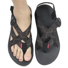 Designer Flip Flops 2015 Casual Men's Beach Summer Shoes Flats Sandals Men Brand Sport Sandals Cloth Slippers Size 38-45(China (Mainland))
