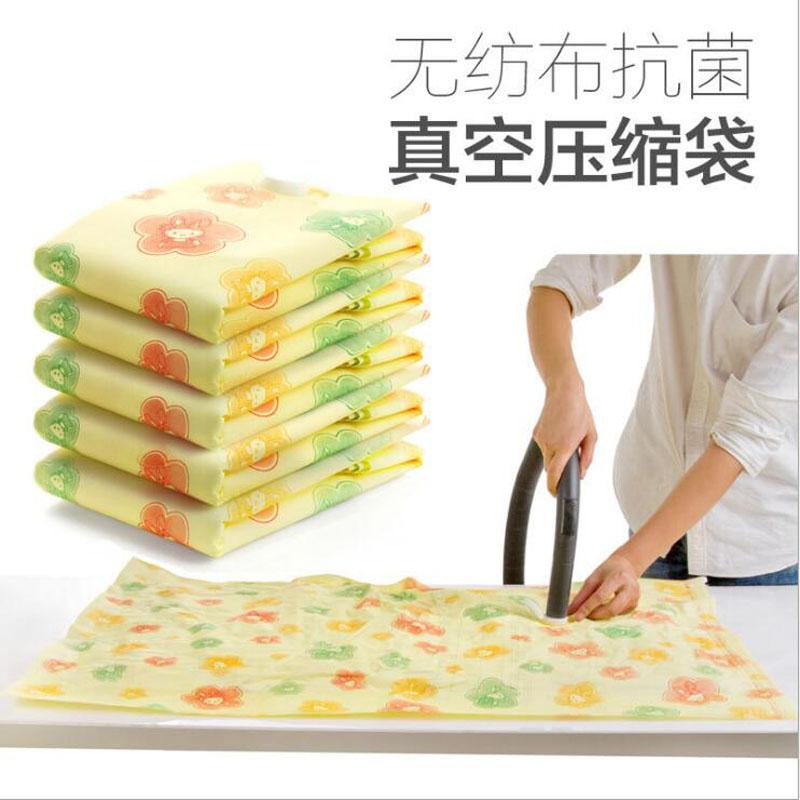 Thick non-woven fabric Clothes quilt vacuum compression bag Antisepsis clothes quilt pouch Storage bag XM-48(China (Mainland))