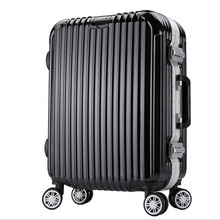 Men's Hardside Travel Luggage, Women's Waterproof Spinner Rolling Trolley Case, Large Capacity Travel Suitcase, 24 Inch