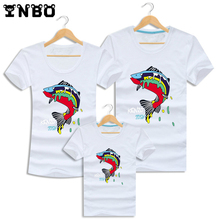 Family Matching Clothes 2016 Summer Mother Father Daughter Son T-shirts Set Family Look T Shirt Clothing Mother Duaghter Outfits