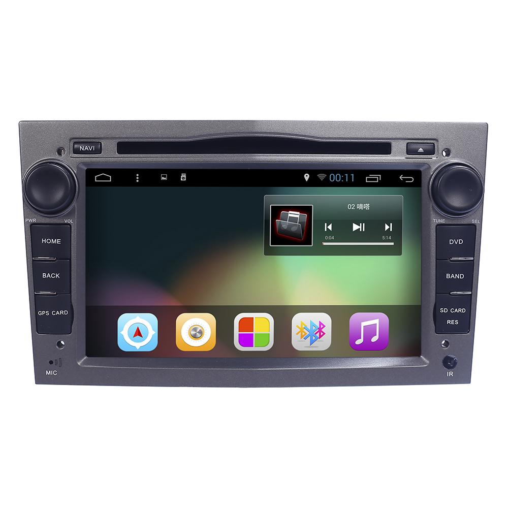 Android 4.4 Quad Core 1024*600 2 Din Car DVD Player For Opel Astra Vectra Antara Zafira Corsa GPS Navigation Radio Audio Video(China (Mainland))