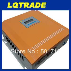 24V 100A Solar charger controller regulator with LCD display for 2500 watts solar power system
