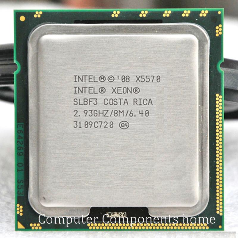 Original X5570 processor (2.93GHz 8MB 6.4GT/s Quad-Core) LGA1366 Server CPU suitabale X58 motherboard(China (Mainland))
