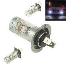 2Pcs 140W 28smd Sharp Chip LED Projector Plasma H7 Xenon White 6000K Bulbs For Car High Beam/Dipped Beam Bulbs/Foglights/DRL(China (Mainland))