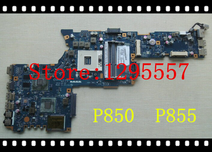 Free Shipping LA-8391P K000135220 For Toshiba Satellite P855 Motherboard HM77 non-integrated 100% fully tested(China (Mainland))