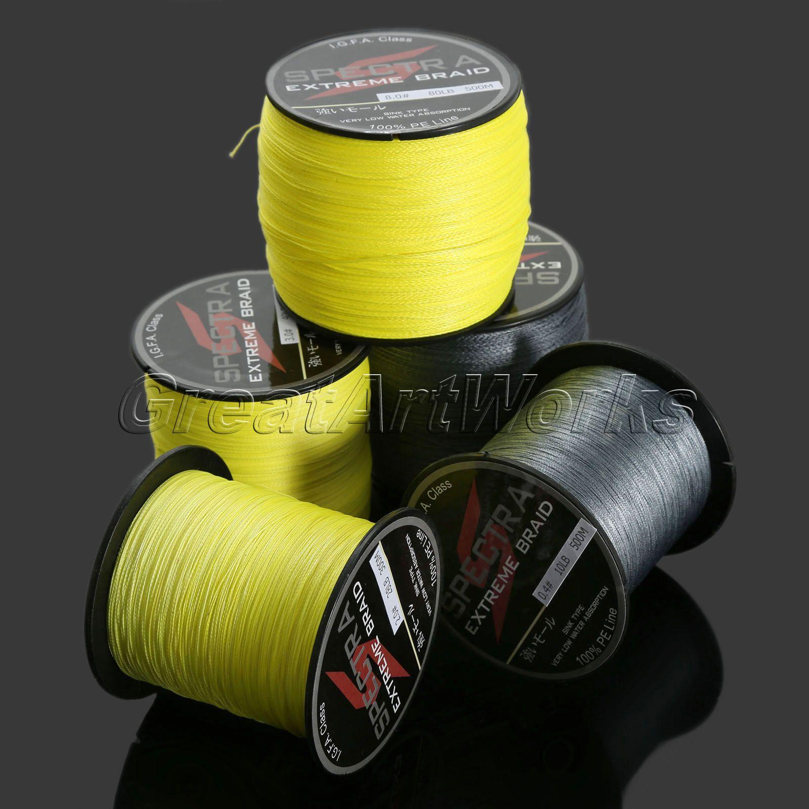NEW 300M PE Lines Carp Fishing Line Multifilament Super Braided 4 Strands 10-80LB Premium For Fish Rope Cord(China (Mainland))