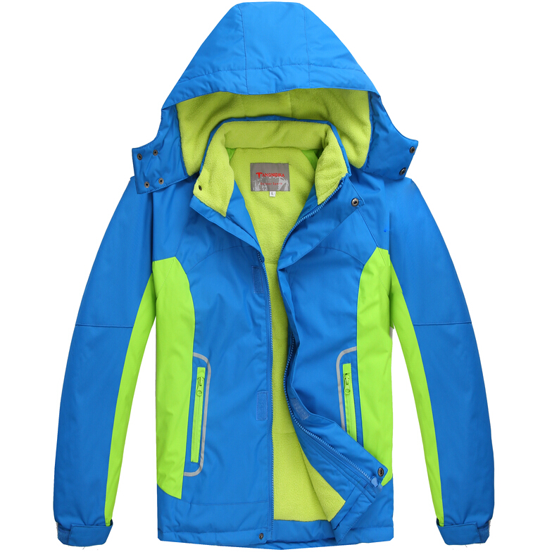 Children Outerwear Warm Coat Sporty Kids Clothes Double-deck Waterproof Windproof Boys Girls Jackets For 6-14T Winter and Autumn(China (Mainland))