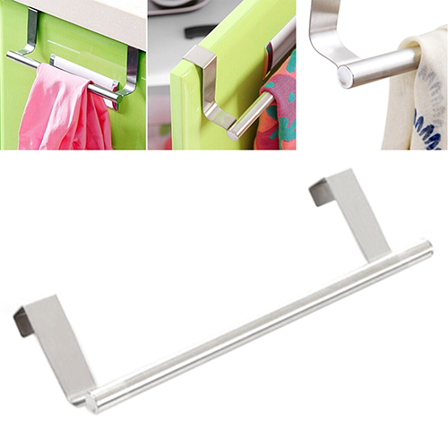 Handdoekenrek Keuken Rvs : Stainless Steel Over the Door Towel Rack