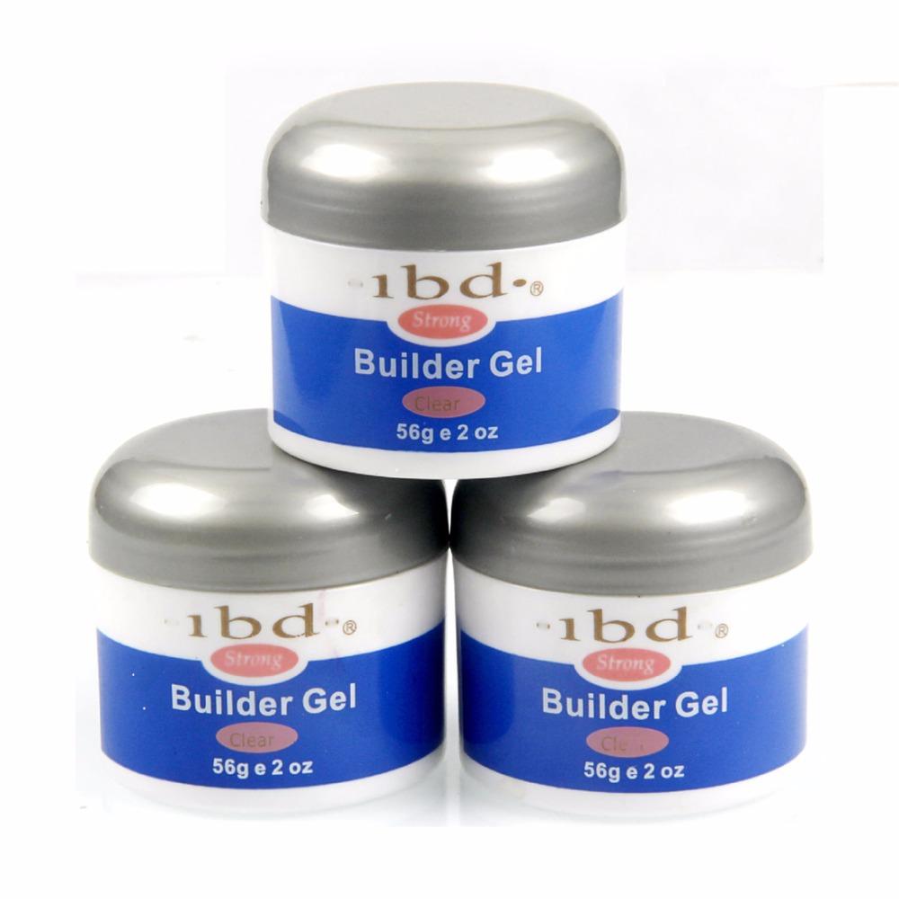 3 Colors ibd Soak Off Strong UV Builder Gel Extension Nail Gel Polish Base Gel Nail Manicure Nails Gel Professional Uv Lamp 56g(China (Mainland))