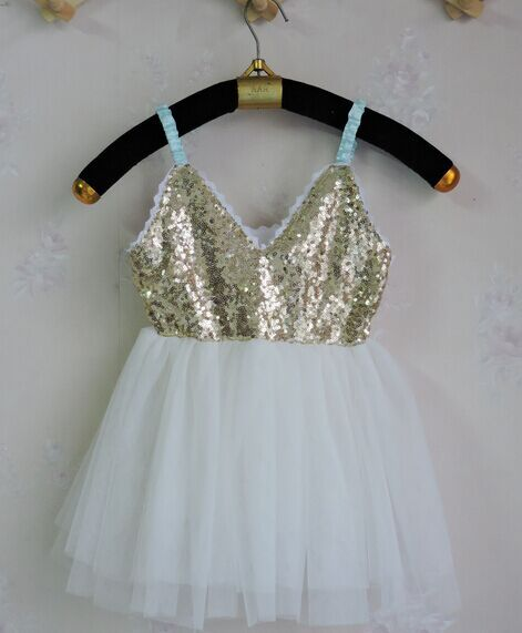 Free shipping sleeveless Elegant bling sequined princess slip ball gowns tutu summer party dress clothes Kids summer garments<br><br>Aliexpress