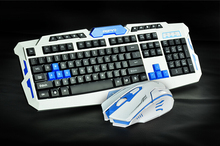 2.4G usb gaming wireless keyboard and mouse combo set   Multimedia game gamer kit Waterproofe DPI Control For Desktop PC Laptop(China (Mainland))