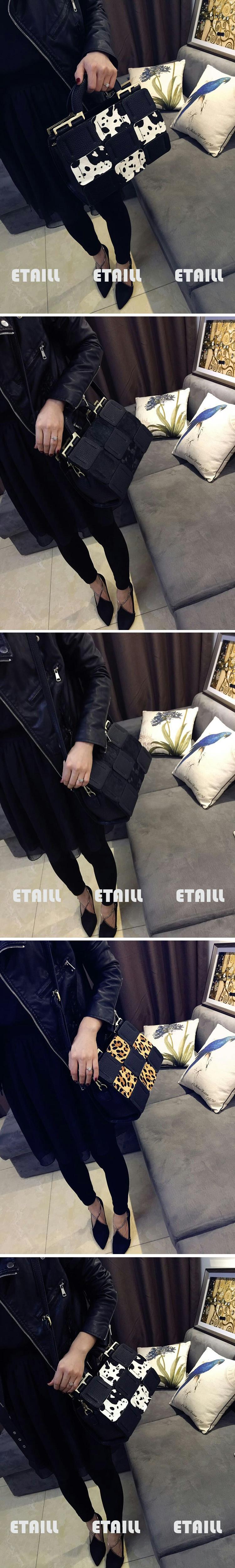 Cowhide Handbag Genuine Leather Cross-body Shoulder Bag Totes