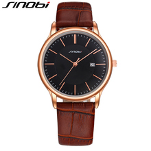 SINOBI Business Office Complete Calendar Men Watches Original Multifunction Men Watches Top Brand Luxury Outdoor Leisure Relojes