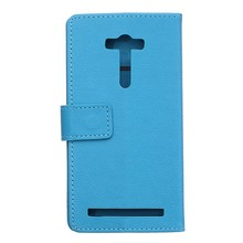 1 Asus zenfone 2 laser ZE550KL Luxury leather case,550kl 5.5 inch custer pu cover funda shell,can mix color - RayCooN store