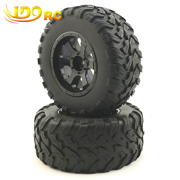 RC 1:10 Short Course Truck Tires Set Tyre Wheel Rim for Traxxas Slash HPI Pro-Line Racing(China (Mainland))