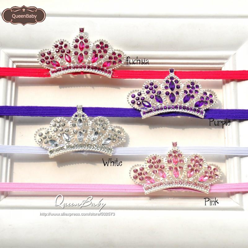 Baby headband, Tiara headband, Crown headband, baby tiara , Princess headband,  20pcs/lot QueenBaby<br><br>Aliexpress