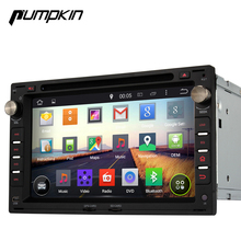 Pumpkin Android 4.4 Car DVD Stereo for GOLF JETTA POLO CITI Quad Core CD player GPS radio Mirror link OBDII Subwoofer(China (Mainland))