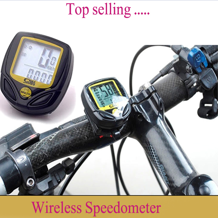 Wireless Speedometer Bike Bicycle Waterproof Computer Odometer - D&H International Co., Ltd. store