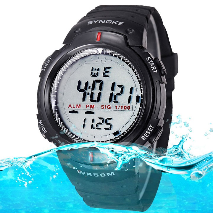 High Quality digital watches men Waterproof Outdoor watch sport watches digital chronograph men wristwatches #4 SV003936(China (Mainland))