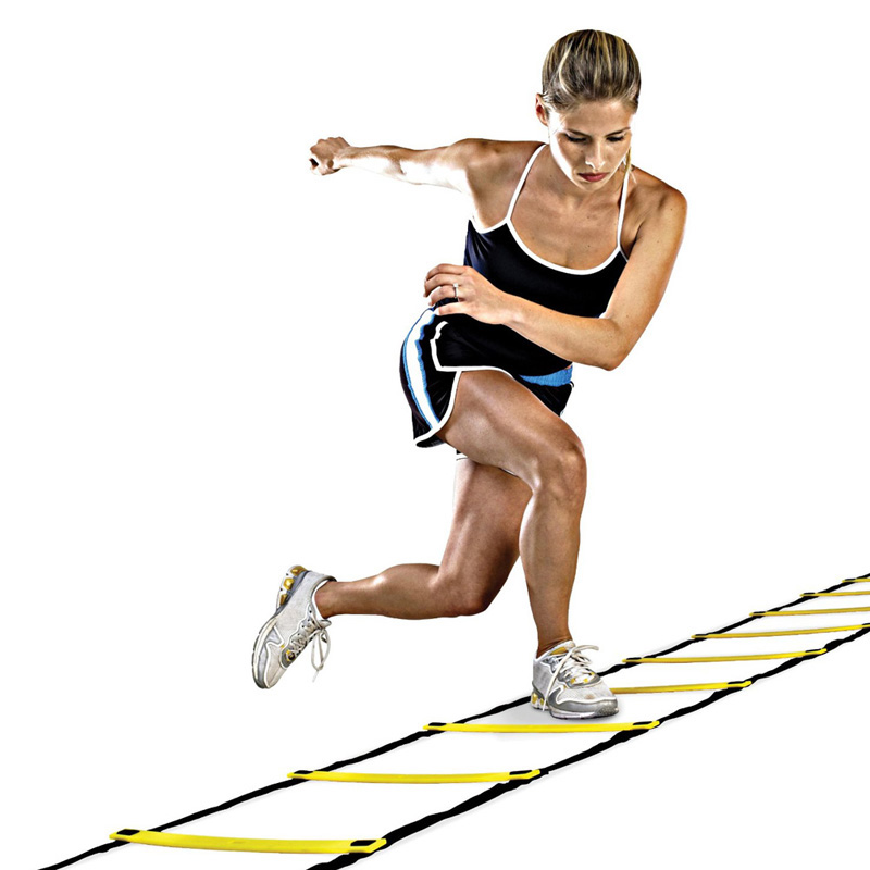 New Durable 9 rung 16.5 Feet 5M Agility Ladder for Soccer Speed Training Equipment BHU2(China (Mainland))