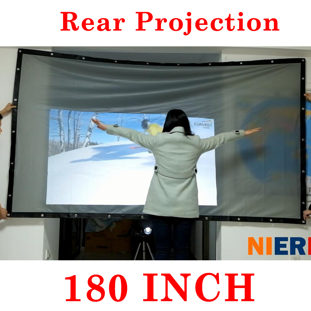 rear projection screen Screen solutions international has been providing premier digital display technology for over a decade whether it's rear projection film, interactive touch foils, or projector enclosures, our custom display solutions can make any project a.