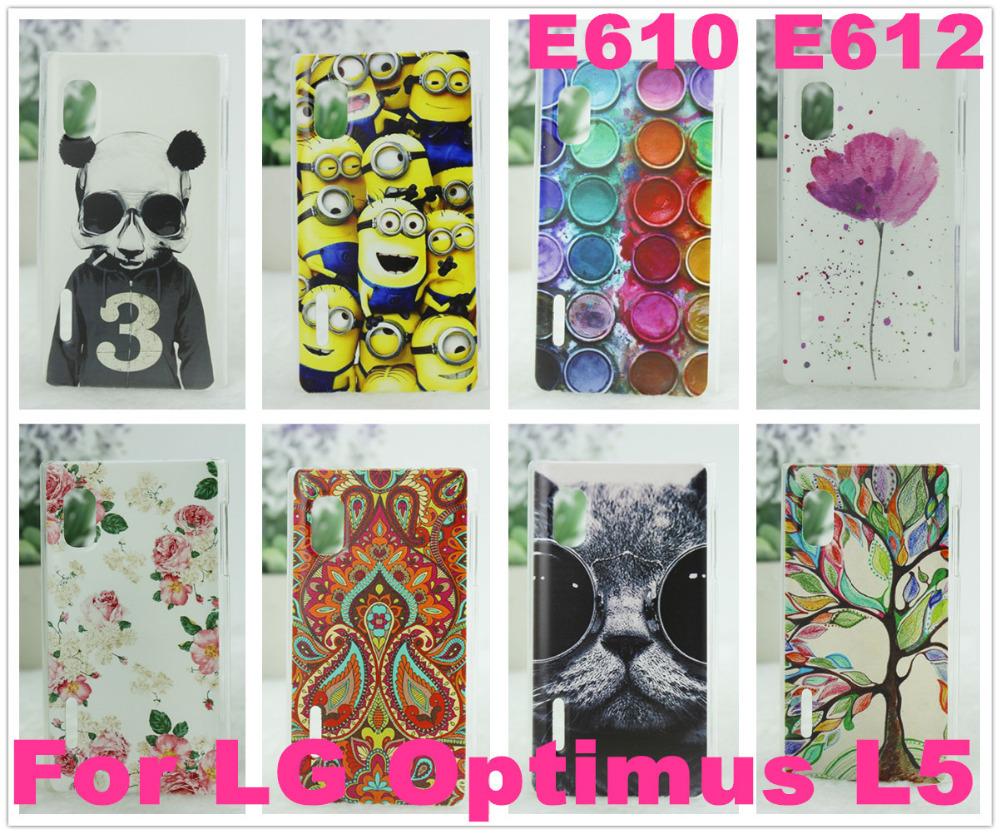 Чехол для для мобильных телефонов 10 e612 /lg Optimus L5 E610 e612  For LG Optimus L5
