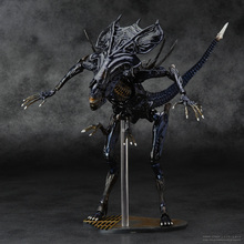 SCI-FIRECOLTECK Aliens Series No.018 Alien Queen Xenomorph Warrior PVC Action Figure Collectible Model Toy Doll 32cm KT464(China (Mainland))