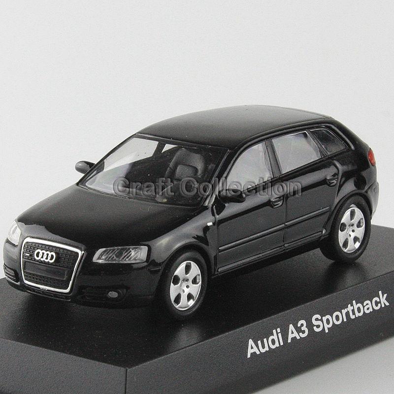 Dark Grey 1:64 Kyosho Diecast Car Model for Audi A3 Sportback(China (Mainland))